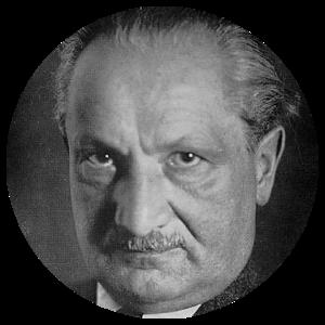 Martin Heidegger, from Wikipedia